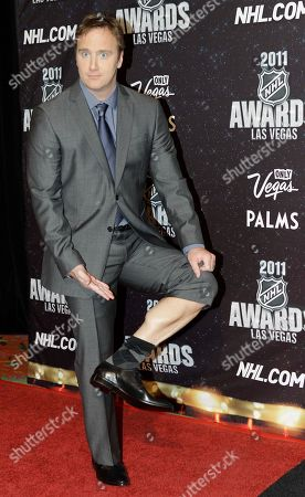 Jay Mohr Jay Mohr is photographed before the 2011 NHL Awards, in Las Vegas