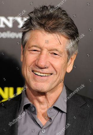 """Fred Ward Fred Ward, a cast member in """"30 Minutes or Less,"""" poses at the premiere of the film in Los Angeles, . The action-comedy film is released in theaters on August 12"""