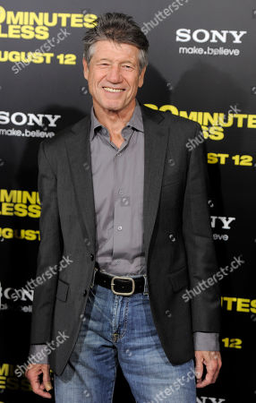 """Stock Image of Fred Ward Fred Ward, a cast member in """"30 Minutes or Less,"""" poses at the premiere of the film in Los Angeles, . The action-comedy film is released in theaters on August 12"""