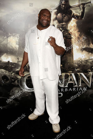 """Bob Sapp Bob Sapp arrives at the premiere of """"Conan the Barbarian"""" in Los Angeles, . """"Conan the Barbarian"""" opens in theaters Aug. 19, 2011"""
