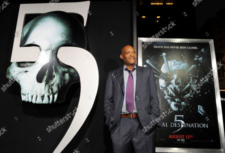 """Tony Todd Tony Todd, a cast member in """"Final Destination 5,"""" poses at the premiere of the film in Los Angeles, . The film opens in theaters on Aug. 12"""