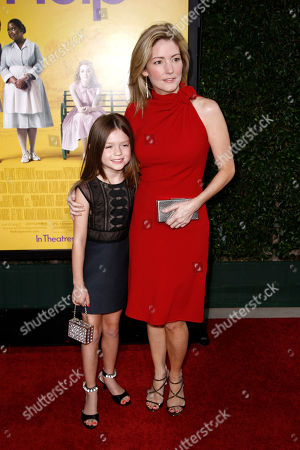 """Kathryn Stockett, Lila Rogers Author Kathryn Stockett, right, and her daughter, Lila Rogers, arrive at the premiere of """"The Help"""" in Beverly Hills, Calif., . """"The Help"""" opens in theaters Aug. 10, 2011"""