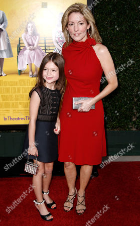 "Kathryn Stockett, Lila Rogers Author Kathryn Stockett, right, and her daughter, Lila Rogers, arrive at the premiere of ""The Help"" in Beverly Hills, Calif., . ""The Help"" opens in theaters Aug. 10, 2011"