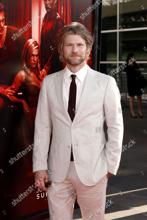 """Todd Lowe Todd Lowe arrives at the premiere for the fourth season of """"True Blood"""" in Los Angeles, . The new season of True Blood premieres June 26 on HBO"""