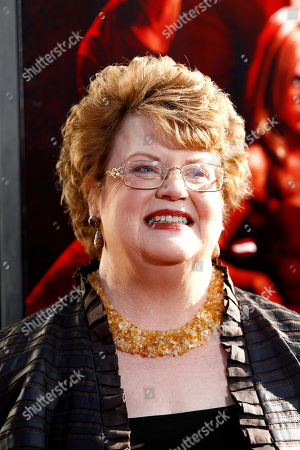 """Charlaine Harris Charlaine Harris arrives at the premiere for the fourth season of """"True Blood"""" in Los Angeles, . The new season of True Blood premieres June 26 on HBO"""