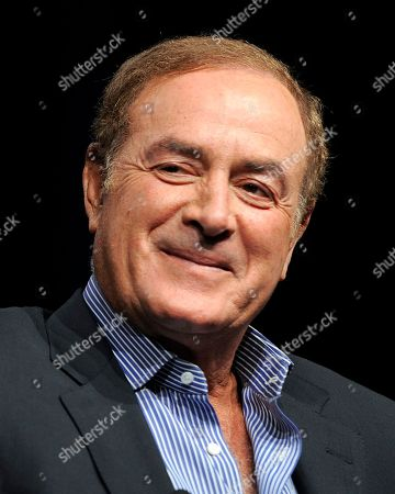 "Al Michaels, Chris Collinsworth Showing Al Michaels in Beverly Hills, Calif. Michaels will receive the Vin Scully Lifetime Achievement Award in Sports Broadcasting. An Emmy Award winner and broadcaster on ""Sunday Night Football,"" Michaels will receive the award May 10 in New York"