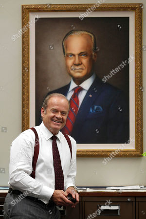 """Stock Picture of Kelsey Grammer Actor Kelsey Grammer poses for a photo while filming """"Boss"""" in Chicago. Grammer plays Tom Kane, the powerful mayor of Chicago who is more than willing throw his political weight around. The new dramatic series debuts Friday night Oct. 21"""