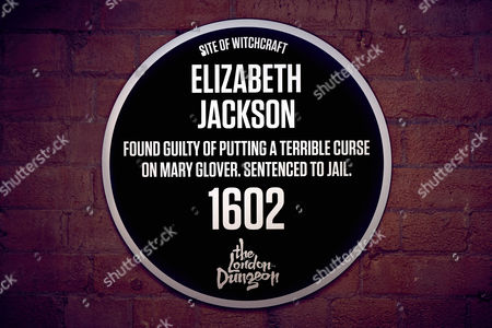 The Dark Plaque for Elizabeth Jackson at Cycle Surgery, 72 Upper Thames Street