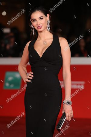 Francesca Chillemi attends the Moonlight red carpet