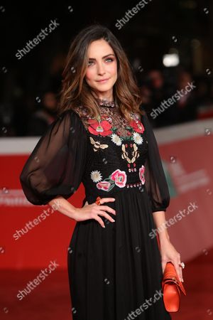 Valentina Corti attends the Moonlight red carpet