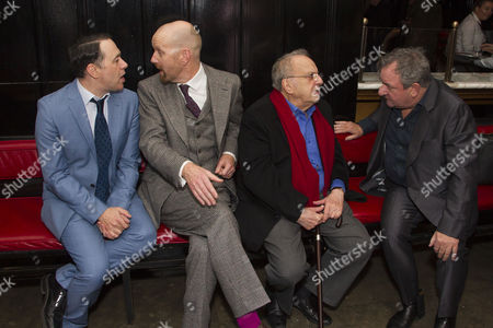 Reece Shearsmith (Norman), Sean Foley (Director), Ronald Harwood (Author) and Ken Stott (Sir)