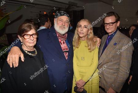 Nan Bush, Bruce Weber, Franca Sozzani, Hamish Bowles