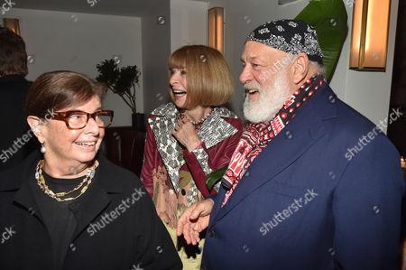 Nan Bush, Anna Wintour, Bruce Weber