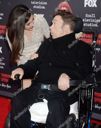 Stock Photo of Tim Curry, Victoria Justice