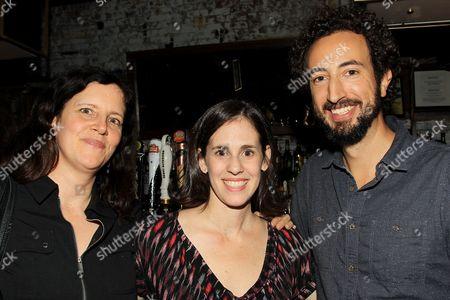 Laura Poitras, Elyse Steinberg and Joel Kriegman