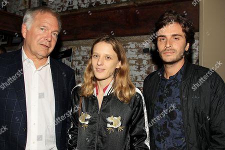 Jonathan Sehring, Mia Hanson Love and Roman Kolinka