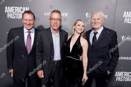 Stock Photo of Gary Lucchesi, Tom Rosenberg, Valorie Curry, Andre Lamal