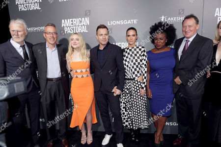 Stock Picture of Andre Lamal, Tom Rosenberg, Dakota Fanning, Ewan McGregor, Jennifer Connelly, Uzo Aduba, Gary Lucchesi