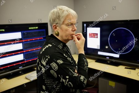 Jill Tarter Jill Tarter, Director of the Center for SETI Research observes data on computer screens collected by t3he Allen Telescope Array at the SETI Institute in Mountain View, Calif., . Astronomers at the SETI Institute said a steep drop in state and federal funds has forced the shutdown of the Allen Telescope Array, a powerful tool in the search for extraterrestrial intelligence, an effort scientists refer to as SETI