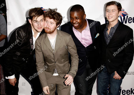 "James Durbin, Casey Abrams, Jacob Lusk, Scotty McCreery From left, ""American Idol"" contestants James Durbin, Casey Abrams, Jacob Lusk, and Scotty McCreery arrive at the champagne launch of the fifth annual BritWeek in Los Angeles, . Britweek honors the influences the British have had on Southern California"