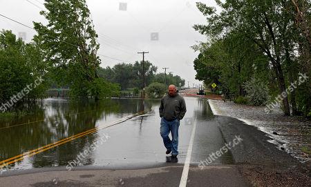 Editorial photo of Colorado Flooding, Greeley, USA