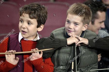 Prince Felipe Froilan and Prince Juan Valentin