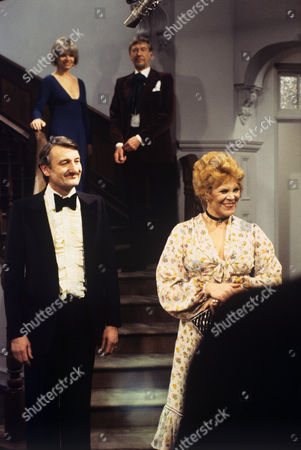 Stock Picture of 'The Old Crowd' -1979 TV play by Alan Bennett and produced by Stephen Frears - Jill Bennett, Valentine Dyall, - Peter Jeffrey and Rachel Roberts