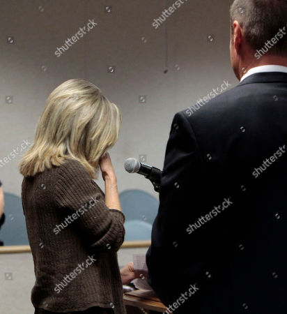 """Terry Probyn, Vern Pierson Terry Probyn, the mother of kidnapping victim Jaycee Dugard, pauses as she reads a statement to her daughter's kidnappers, Phillip and Nancy Garrido, during their sentencing hearing at the El Dorado County Superior Court in Placerville, Calif., . Calling him the """"poster child"""" of a sexual predator, Judge Douglas C. Phimister sentenced Phillip Garrido to 431 years to life and Nancy Garrido to 36 years to life in state prison for the 1991 kidnapping of Dugard. At right is El Dorado County District Attorney Vern Pierson"""