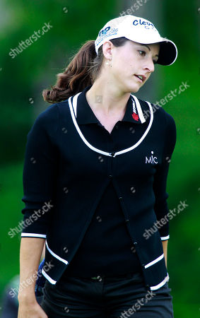 Paige Mackenzie Paige Mackenzie reacts after missing a putt on the 18th hole during a second round match against Sophie Gustafson, of Sweden, in the LPGA Sybase Match Play Championship golf tournament at Hamilton Farm Golf Club, in Gladstone, N.J