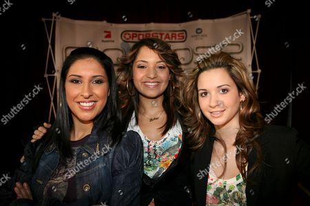 Senna Guemmour, Bahar Kizil and Mandy Grace Capristo