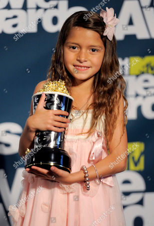 Alexys Nycole Sanchez Alexys Nycole Sanchez poses backstage with her award for best line in a movie at the MTV Movie Awards, in Los Angeles
