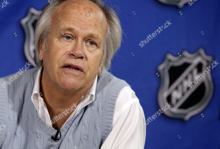 Dick Ebersol NBC Sports Group Chairman Dick Ebersol addresses a news conference at the offices of the National Hockey League, in New York, . The NHL is staying on NBC and Versus for the next 10 years with a deal NHL commissioner Gary Bettman calls the most significant in league history