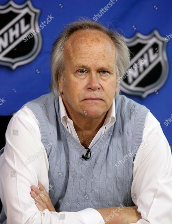 NBC Sports Group Chairman Dick Ebersol is seen at the offices of the National Hockey League, in New York. With Dick Ebersol out of the picture, NBC's multi-billion-dollar hold on the most valuable property in sports faces a serious challenge this week when U.S. networks bid on the next set of Olympic television rights