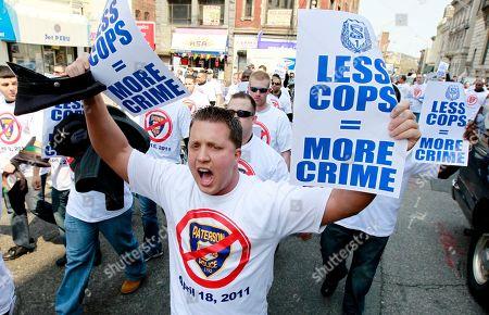 Editorial photo of Paterson Police Cuts, Paterson, USA