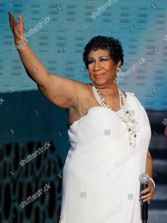 """Aretha Franklin Singer Aretha Franklin appears at a taping of """"Surprise Oprah! A Farewell Spectacular,"""" in Chicago. In a phone interview Wednesday night Jan. 4, 2012 from Atlanta, where her late father, Rev. C.L. Franklin, was to be honored by the Trumpet Awards for his achievements, a jovial Franklin says the proposal from her longtime friend, Willie Wilkerson was not entirely unexpected"""