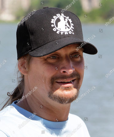 Kid Rock Kid Rock announces he'll be playing a hometown concert at Detroit's baseball park this summer at a news conference on Belle Isle in Detroit, . Rock, Detroit Red Wings captain Nicklas Lidstrom and retired Red Wings defenseman Chris Chelios used paddle boards to cross the Detroit River to Belle Isle to make the announcement