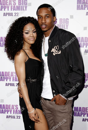 "Teyena Taylor, Brandon Jennings Cast member Teyena Taylor, left, and basketball player Brandon Jennings, of the Milwaukee Bucks, arrive at the premiere of ""Madea's Big Happy Family"" in Los Angeles on . ""Madea's Big Happy Family"" opens in theaters April 22"