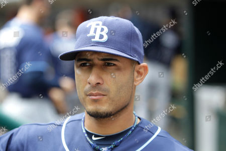 Felipe Lopez Tampa Bay Rays third baseman Felipe Lopez is seen in the dugout before the baseball game against the Detroit Tigers in Detroit