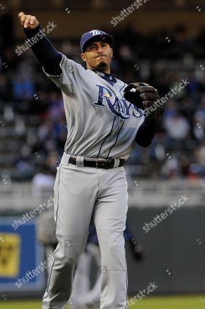Felipe Lopez Tampa Bay Rays third baseman Felipe Lopez during pre-game warmup in a baseball game in Minneapolis