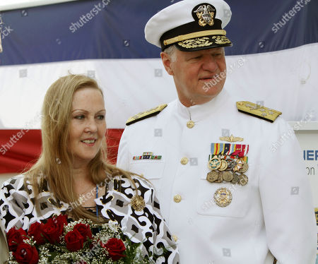 Maureen Murphy, Gary Roughead Maureen Murphy, right, mother of Medal of Honor recipient Navy Lt. Michael Murphy, stands with Adm. Gary Roughead, the chief of Naval Operations at a christening ceremony at Bath Iron Works in Bath, Maine on . This would have been Lt. Murphy's 35th birthday
