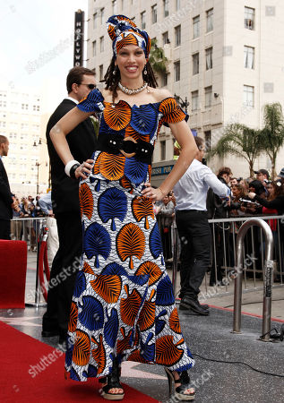 """Naima Adedapo Former """"American Idol"""" contestant Naima Adedapo is seen before the Hollywood Walk of Fame star ceremony for entertainment producer Simon Fuller in Los Angeles, . Fuller is the creator of """"American Idol"""