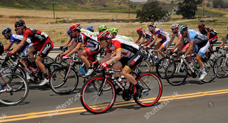 Editorial image of Tour of California Cycling, Santa Clarita, USA