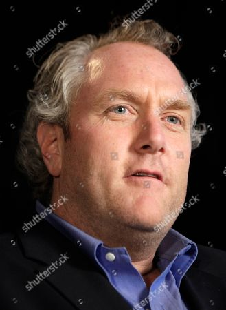 Andrew Breitbart Conservative activist and blogger Andrew Breitbart, who runs the websites BigGovernement.com and BigJournalism.com, answers questions during an interview at the Associated Press in New York, regarding his release of photos U.S. Rep. Anthony Weiner posted on Twitter before admitting to conducting sexually charged online relationships with several women and lying about his msdeeds