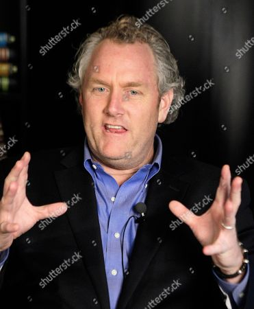 Andrew Breitbart Conservative blogger Andrew Breitbart, who runs BigGovernement.com and BigJournalism.com, gestures as he speaks during an interview at the Associated Press' headquarters in New York, . Breitbart claims he is holding onto at least one more unreleased graphic Twitter photo of Congressman Weiner given to him by 26 year-old Meghan Broussard of Texas