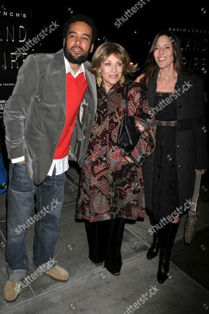 Ben Harper with Veronique Peck and Cecilia Peck