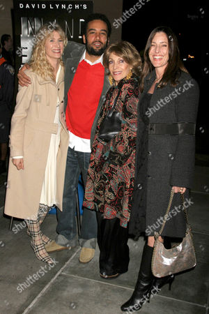 Ben Harper and Laura Dern with Veronique Peck and Cecilia Peck