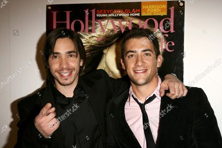 Stock Picture of Justin Long and Jonathan Togo