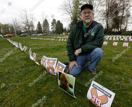 Editorial image of Workers Memorial Day, Lakewood, USA