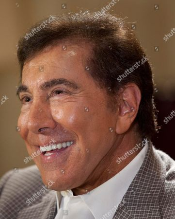 Steve Wynn Steve Wynn answers questions about his upcoming wedding to Andrea Hissom, in Las Vegas