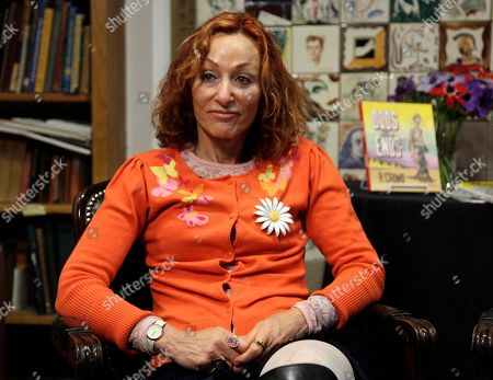 Aline Kominsky-Crumb Aline Kominsky-Crumb, wife and collaborator of comic book author and illustrator Robert Crumb is shown during an interview at the Society of Illustrators in New York